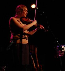 Jenn Grant at the Park Theatre, Winnipeg, Feb 9 2010. Jill Latschislaw photo