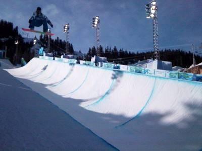 Men's snowboard half pipe qualifications