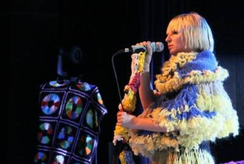 Sia at the Commodore Ballroom, April 10 2010. Robyn Hanson concert photo