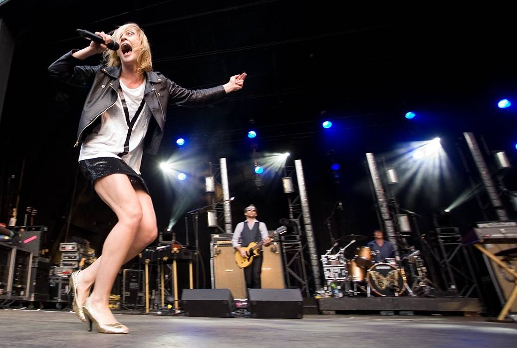 Metric at Malkin Bowl, Vancouver, June 12 2010. Jason Statler photo