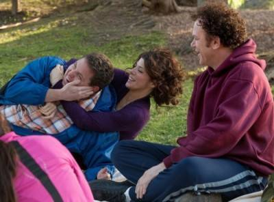 Jonah Hill, Marisa Tomei and John C. Reilly in Cyrus.