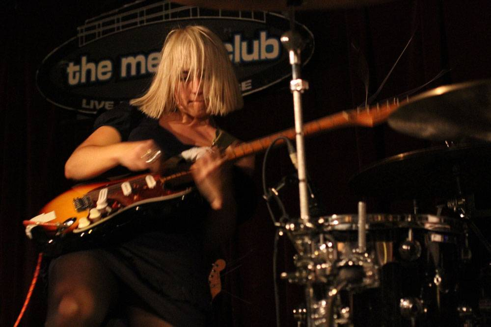 The Joy Formidable at the Media Club, Aug 15 2010. Robyn Hanson photo