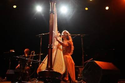 Joanna Newsom at the Vogue, July 5. Skot Nelson photo