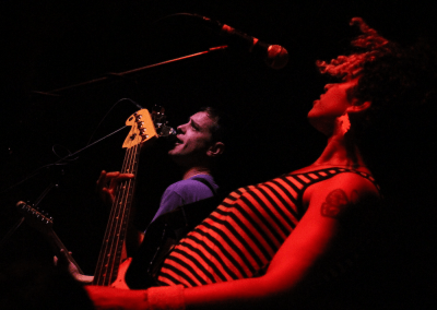 The Thermals at the Wild Buffalo, Bellingham, Sept 25 2010. Robyn Hanson photo