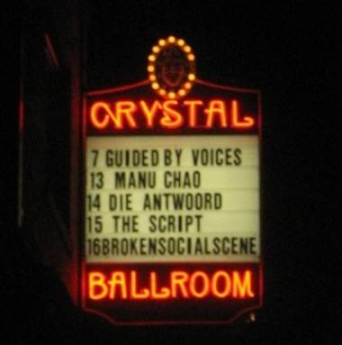 Guided by Voices reunion Portland Crystal Ballroom