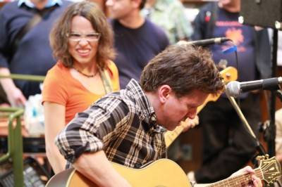 Superchunk at Zulu Records, Oct 13 2010. Skot Nelson photo