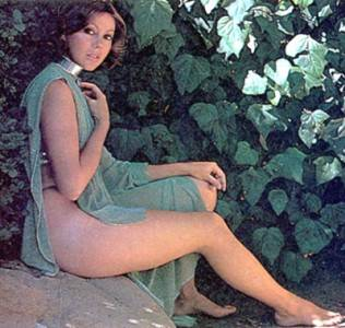 Jenny Agutter, British stage actress, in a publicity still from the movie Logan's Run.