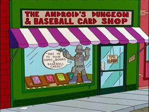 The Android's Dungeon from the Simpsons.