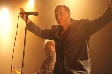 Andy Gill and Jon King with Gang of Four at Venue, Vancouver, Feb 15 2011. Robyn Hanson photo