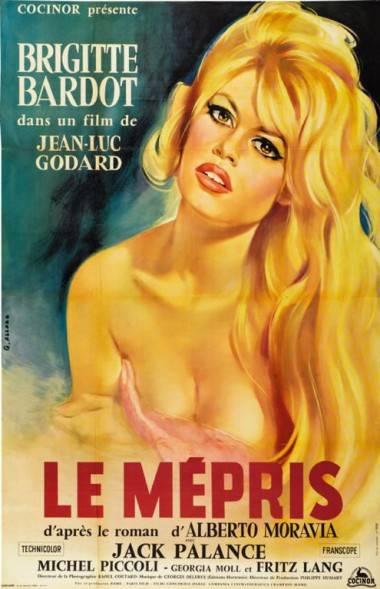 Le Mepris movie poster