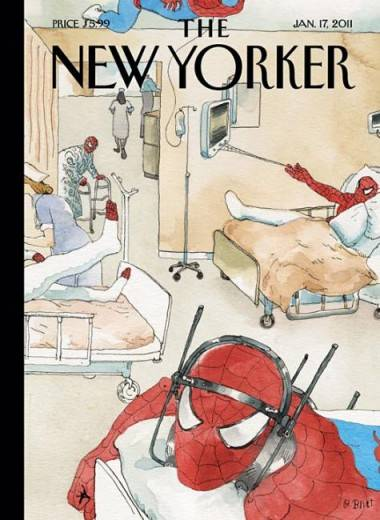 New Yorker Spider-Man cover
