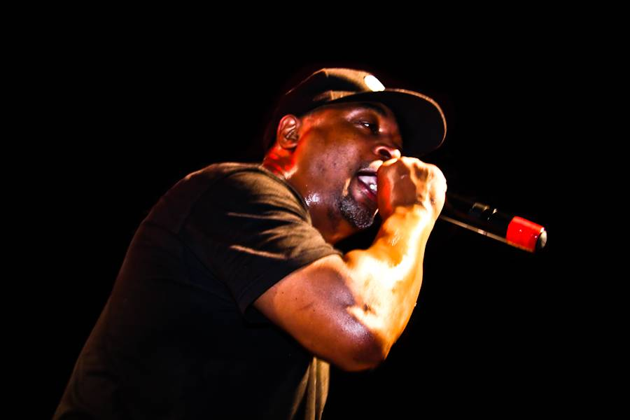 Chuck D with Public Enemy at the Garrick Theatre, Winnipeg, May 21 2010. Ailsa Dyson photo