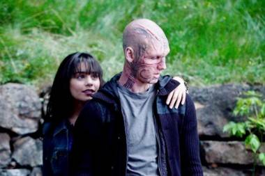 Vanessa Hudgens with Alexander Pettyfer in Beastly.