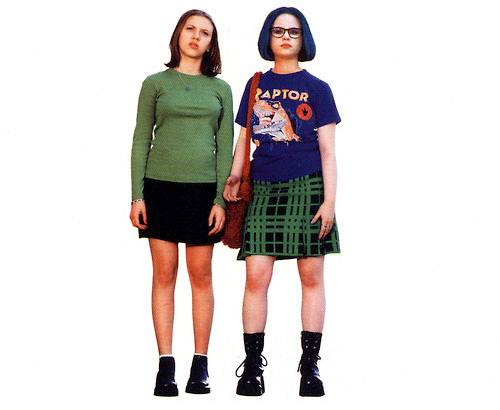 Scarlett Johansson and Thora Birch in the 2001 movie version of Daniel Clowes' Ghost World.