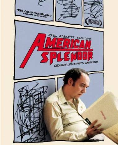 Paul Giamatti as Harvey Pekar in American Splendor.