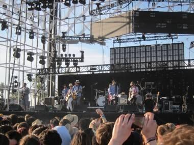 Broken Social Scene at Coachella, April 16 2011. Krystle Sivorot photo