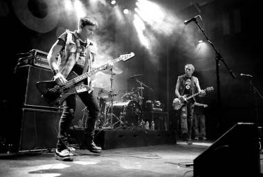 D.O.A. at the Rickshaw Theatre, Vancouver, June 4 2011. Jordana Muelleur photo