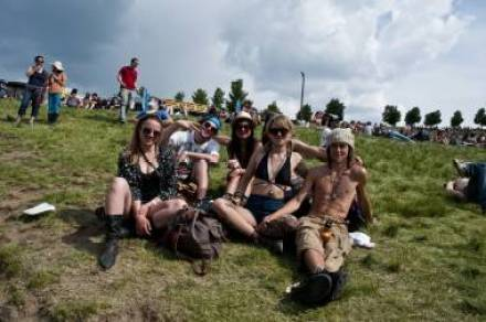 Festival-goers at Sasquatch! 2011. Jade Dempsey photo