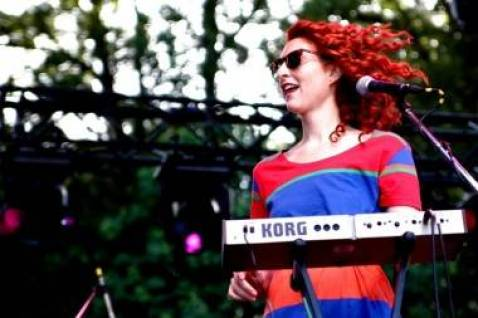 Hannah Georgas at Stanley Park, Vancouver, July 9 2011. Anja Weber photo