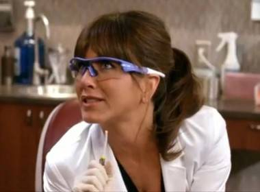 Jennifer Aniston in Horrible Bosses (2011).