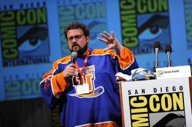Kevin Smith at the 2010 San Diego Comic-Con. Kevin Winter photo for Getty Images