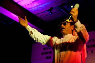 Omar Souleyman at Bar None, Vancouver, July 5 2011. Sia Amini photo
