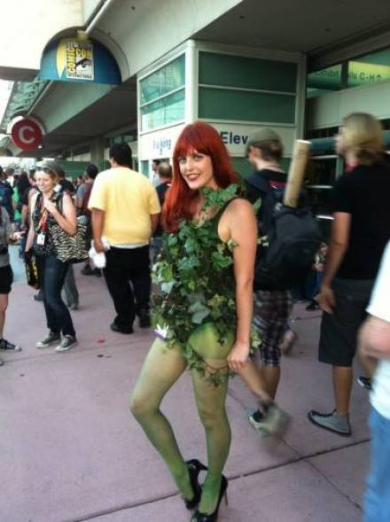 Poison Ivy at the 2011 San Diego Comic-Con July 22 2011.