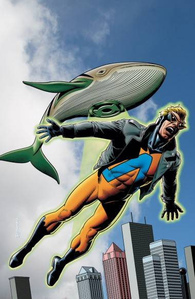 Animal Man. Brian Bolland illustration.