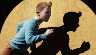 Tintin movie still