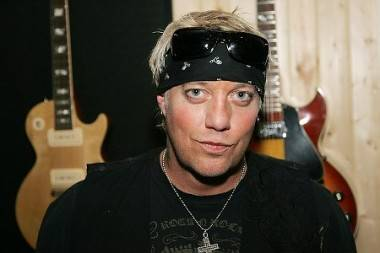 Jani Lane of the band Warrant.