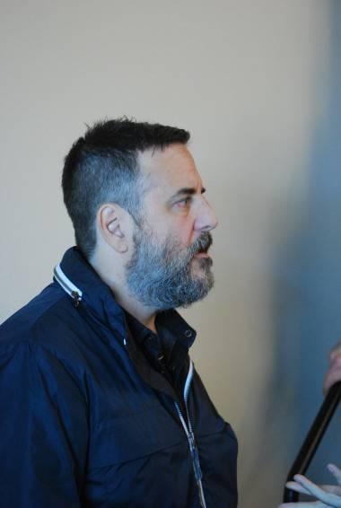 Mark Romanek at the Locke & Key panel at the 2011 San Diego Comic-Con.