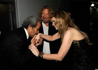 Allen Toussaint Robert Plant and Alison Krauss