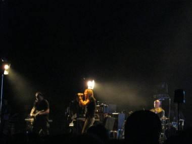 Portishead live at the WaMu Theatre