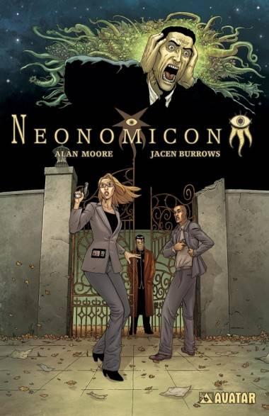 Jacen Burrows cover art Neonomicon
