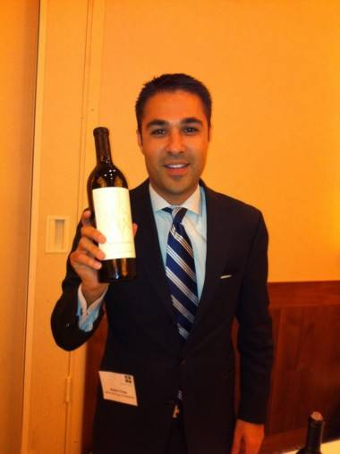 John Anthony wine rep Andre Crisp