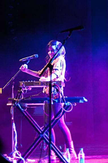 Lights at the Vogue Theatre photo