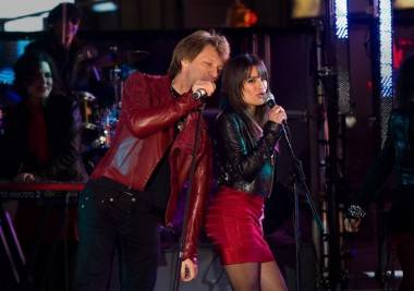 Jon Bon Jovi and Glee's Lea Michele in New Year's Eve image
