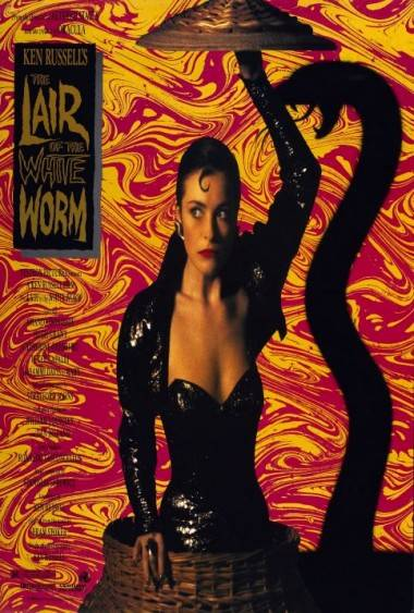 Lair of the White Worm movie poster