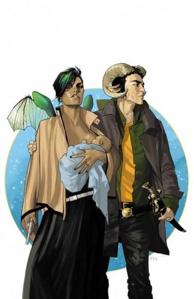Art from Brian K. Vaughn's Saga (Image).
