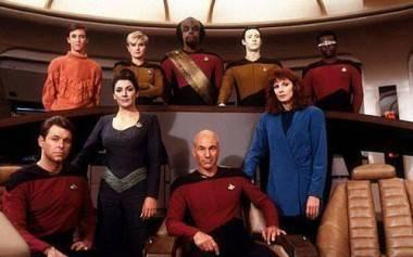 Star Trek: The Next Generation cast photo.