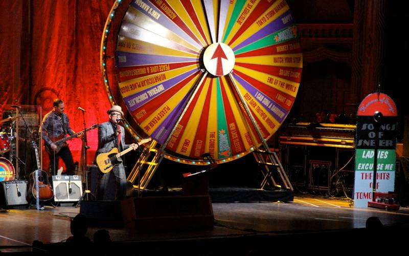 Elvis Costello Orpheum Vancouver 2012 concert photo