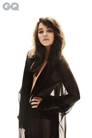 Emilia Clarke for GQ, Leo Cackett photo