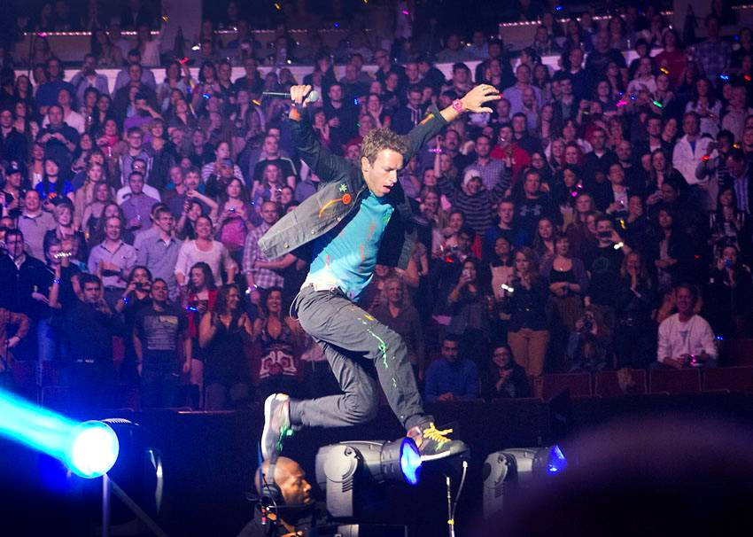 Coldplay at Rogers Arena, Vancouver
