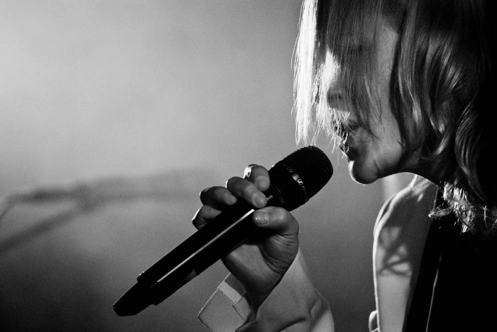 Emily Haines with Metric at the Commodore Ballroom concert photo