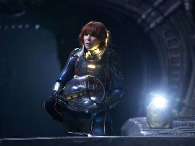 Noomi Rapace in Prometheus.