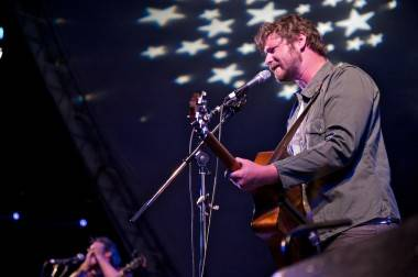 Dan Mangan at Vancouver Folk Music Festival photo