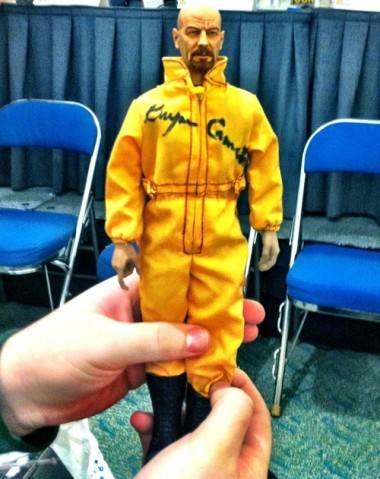 Fan-made Walter White action figure photo