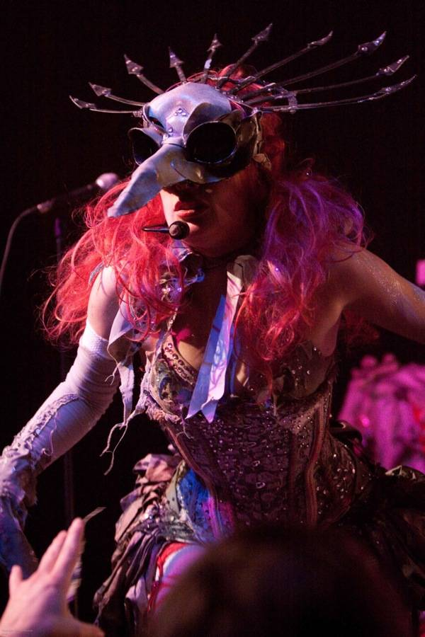 Emilie Autumn at the Rickshaw Theatre concert photo
