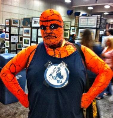 The Thing cosplay at San Diego Comic-Con 2012