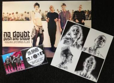 No Doubt prize pack